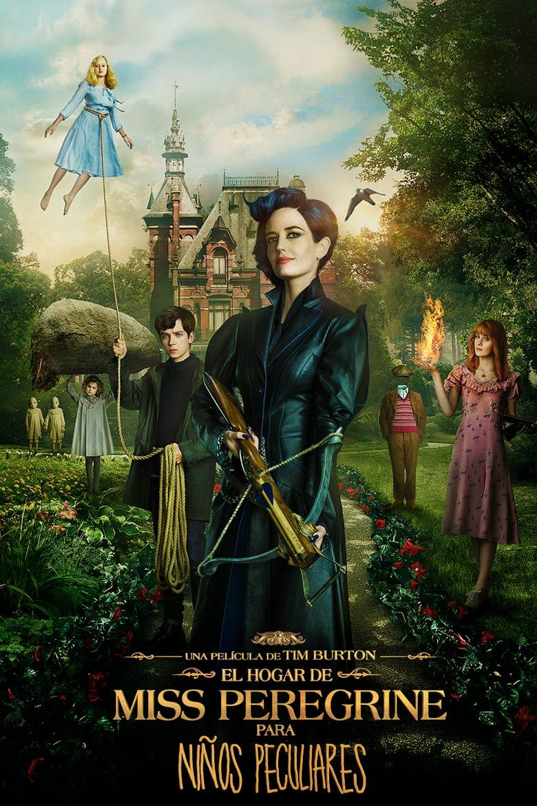Miss Peregrine S Home For Peculiar Children Pelicula Completa Español Latino Miss Peregrines Home For Peculiar Peculiar Children Peculiar Children Movie
