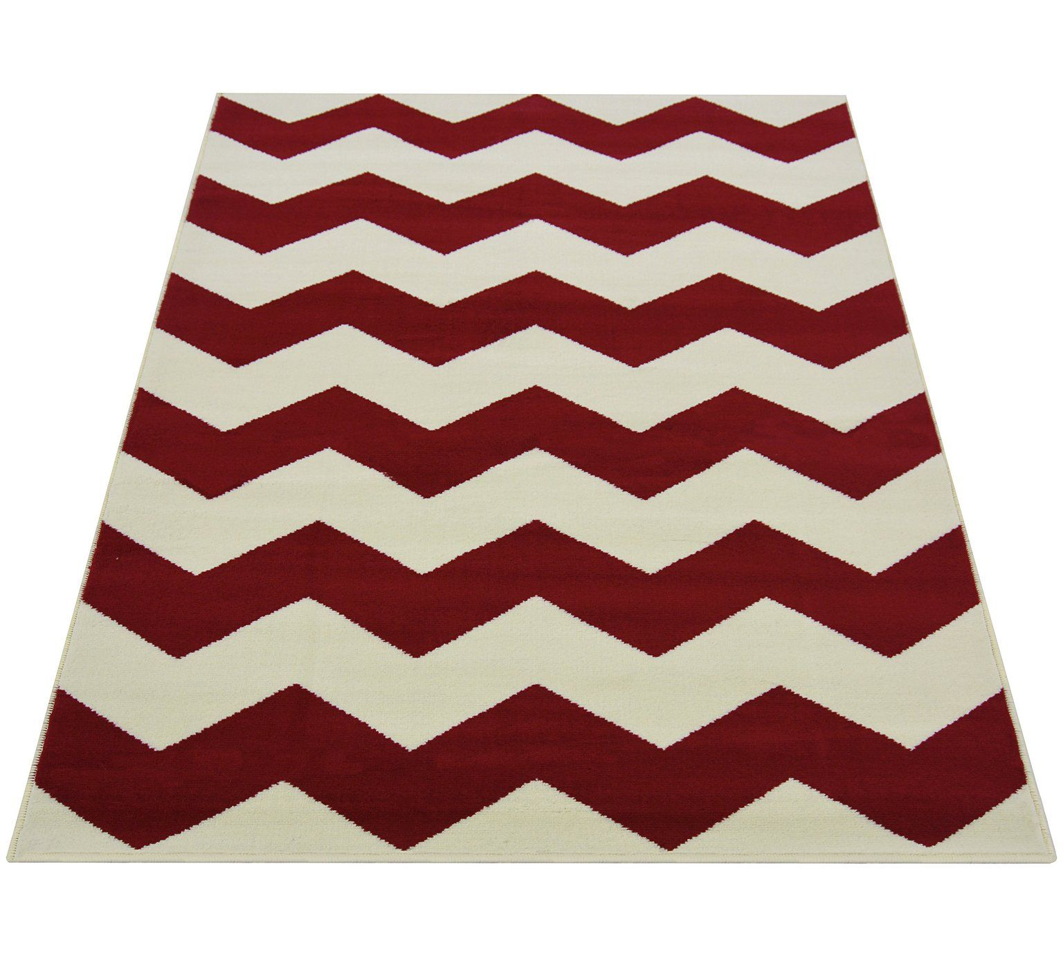 Chevron Rug 80x150cm Red At Argos Co Uk Visit
