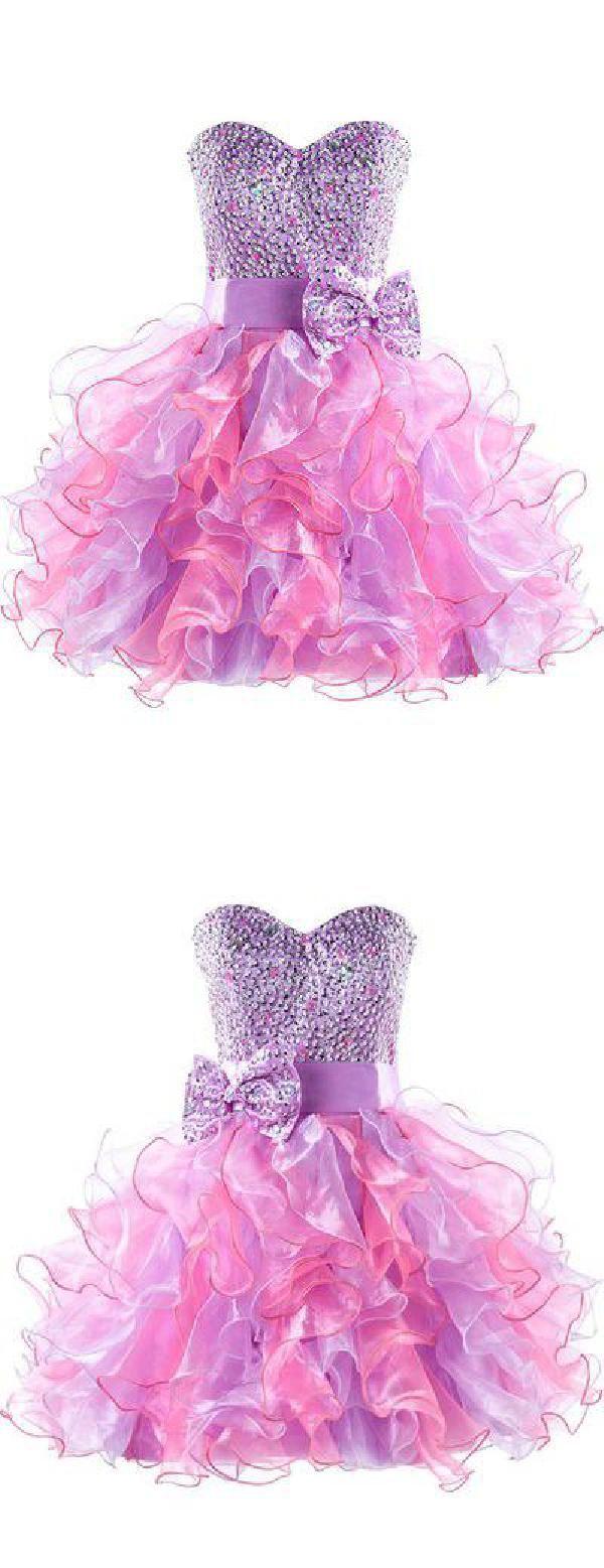 Cheap feminine short homecoming dress homecoming dressshort prom