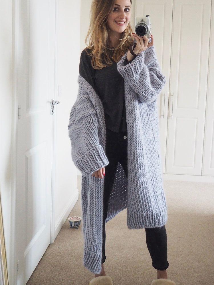 Photo of Knit Kit – Dreamy Oversized Cardigan — Lauren Aston Designs