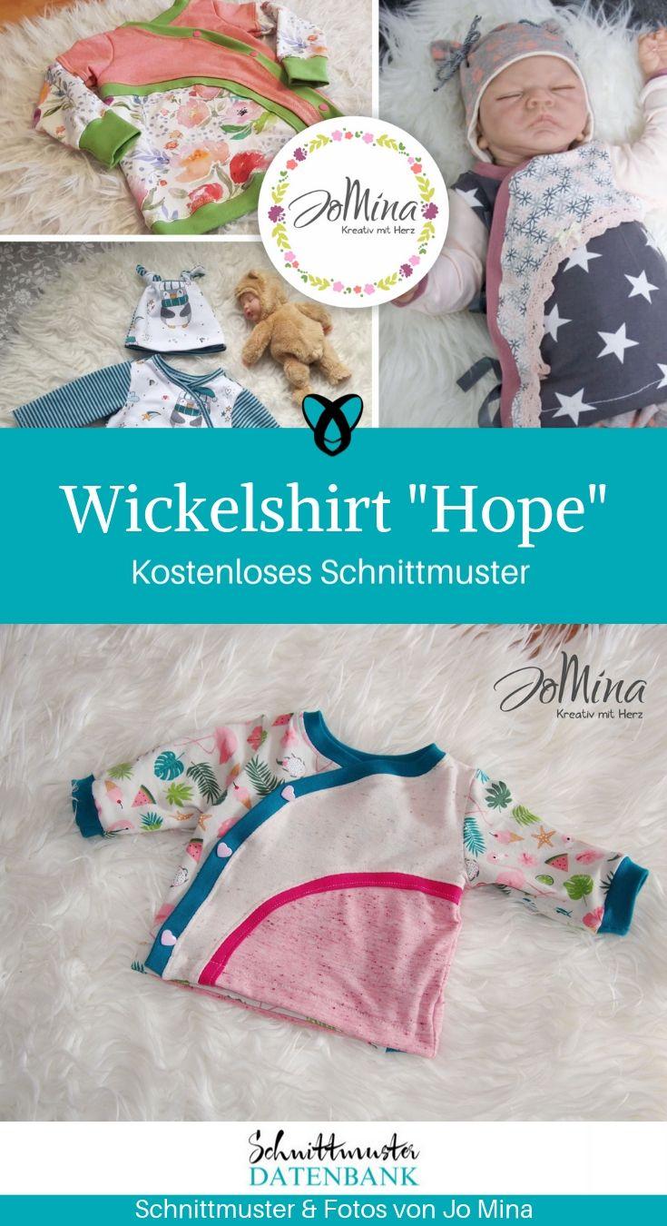 """Wickelshirt """"Hope"""" für Babys #babyshirts"""