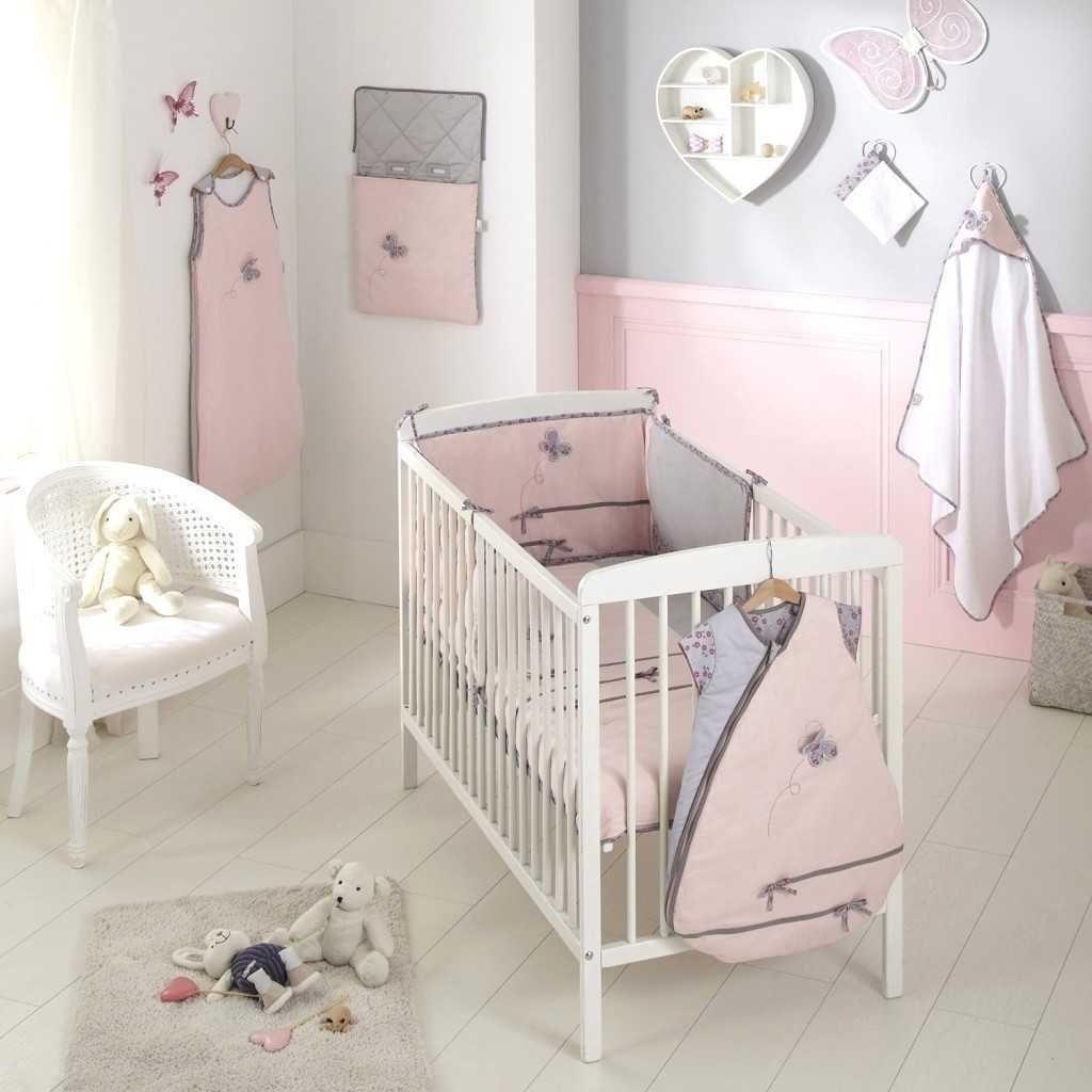 Idee Deco Chambre Bebe Fille Rose  Deco Chambre Enfant Mixte