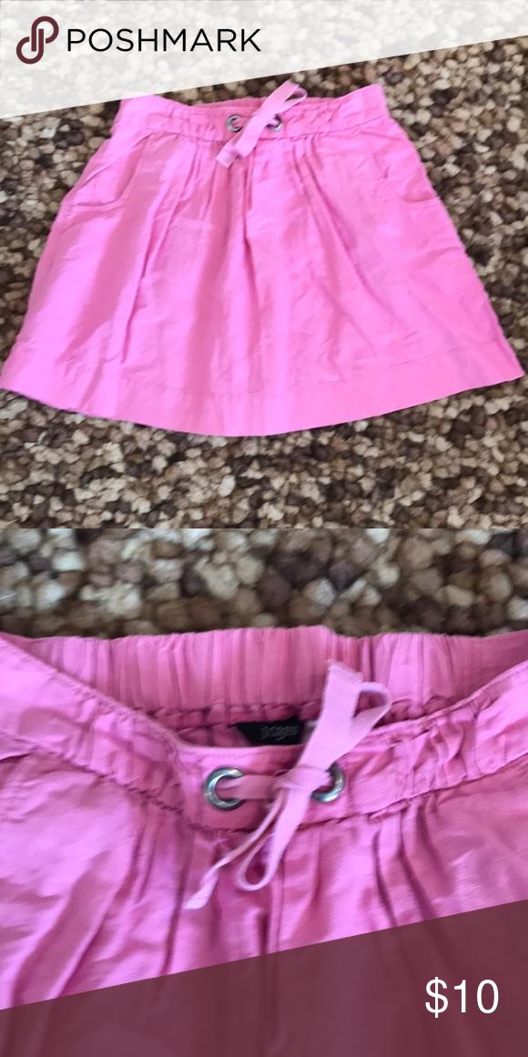J. Crew Linen Pink Skirt Size XS J. Crew Linen Pink Skirt Size XS J. Crew Skirts
