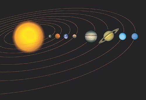 unser sonnensystem  sonnensystem planeten planeten im