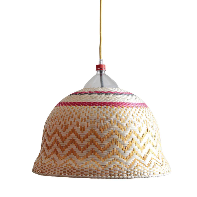 Lampe suspension / contemporaine / en osier / fait main EPERARA ...