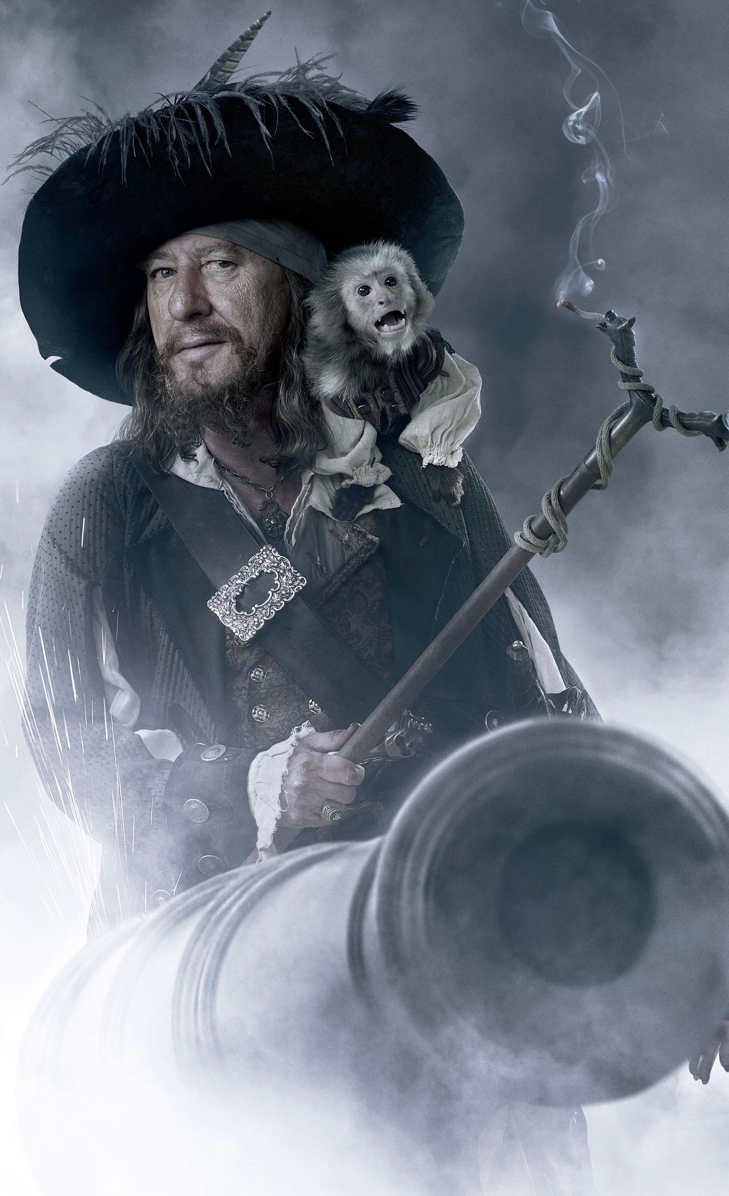 255d24c40 CAPTIAN HECTOR BARBOSSA & JACK (the Monkey) ~ Pirates of the ...