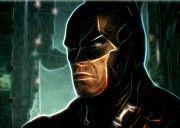 Batman Figures Print by Super Hero