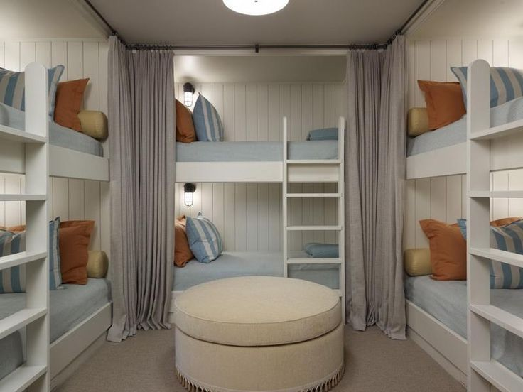 6 Person Bunk Bed Google Search Bunk Bed Rooms Bunk Bed Designs Bunk Beds Built In