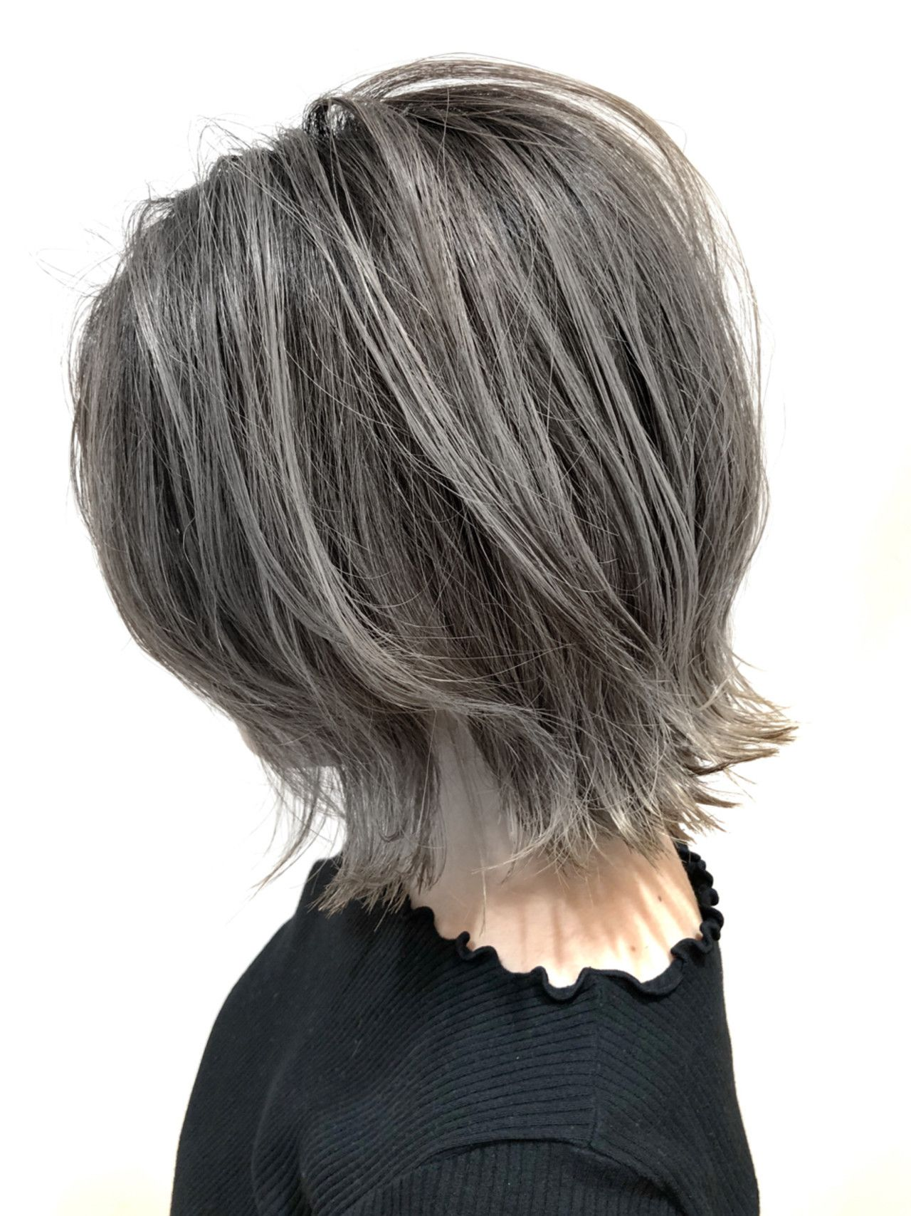 グレー系orベージュ系でおしゃれ髪 あなたはどっちで楽しむ Hair