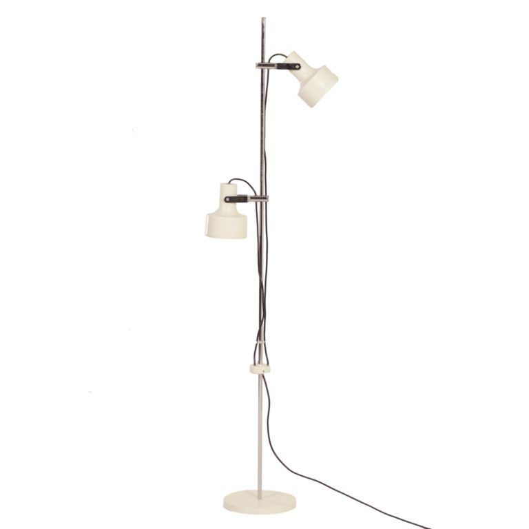Anvia Floor Lamp With 2 White Spots By J Hoogervorst For Anvia 1960s