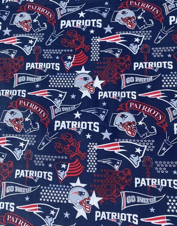 New England Patriots Hometown Cotton Print Fabric 1 4 Yard Piece 9 X 44 New In 2020 Nfl New England Patriots New England Patriots England Patriots