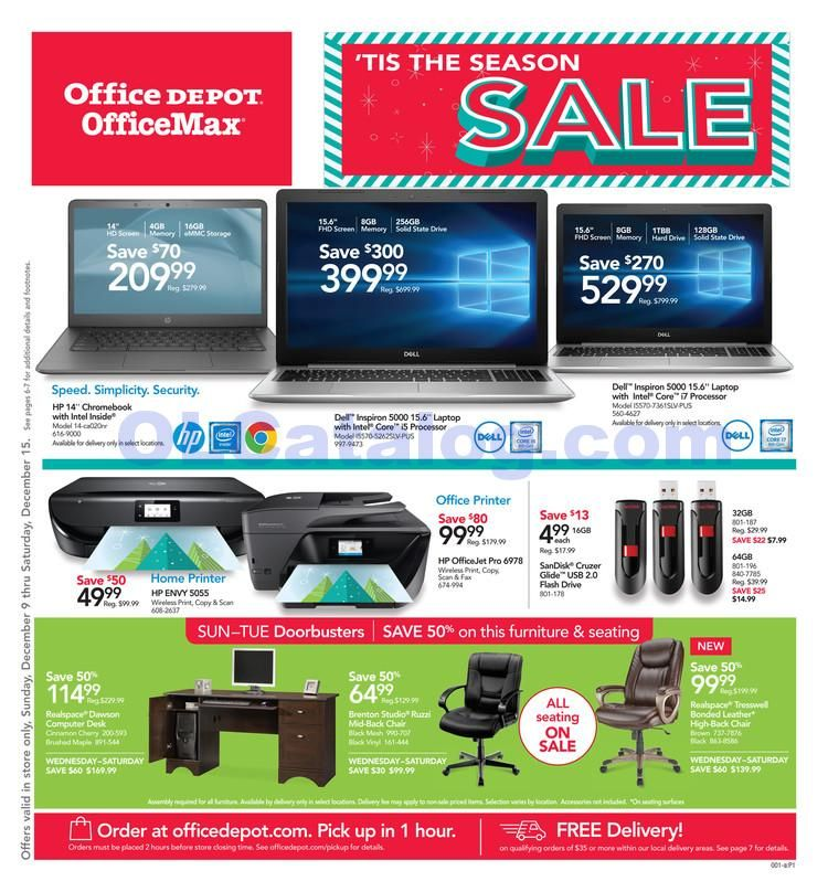 Office Depot Officemax Ad July 7 13 2019