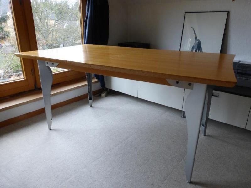 Esstisch 90 cm x 160 cm, ausziehbar mit Einlegeplatten 2 x 45 cm x - küchenzeile 160 cm