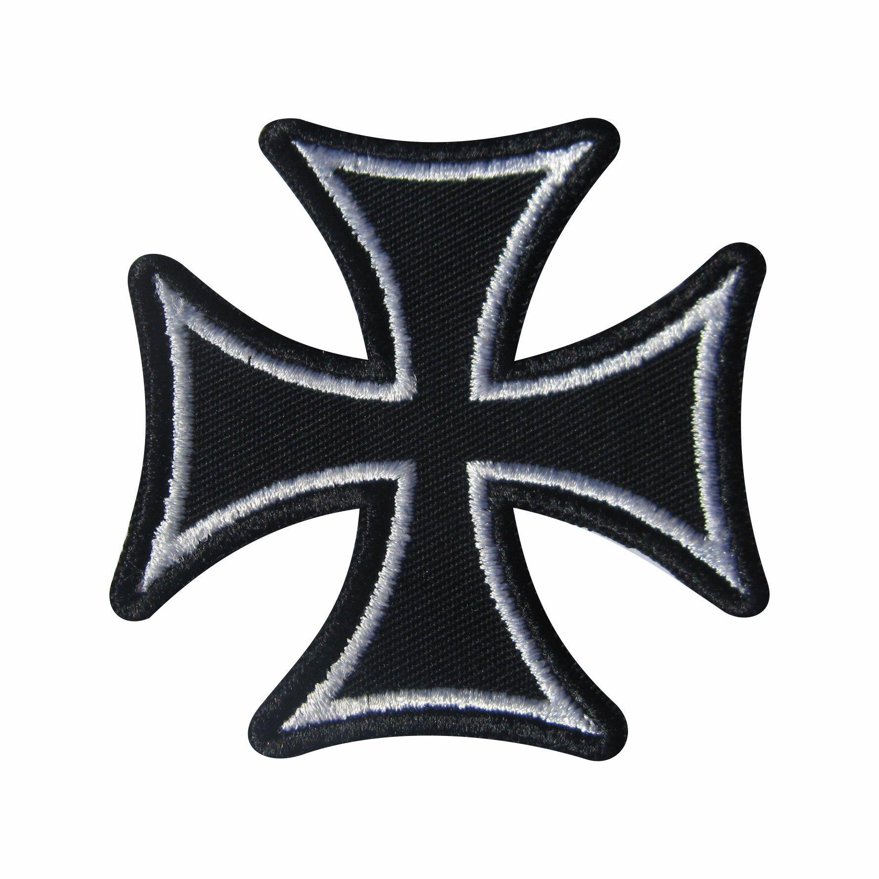 Cruz de Malta Contorno Branco   tricks diy   Tattoos 62a1847dc3