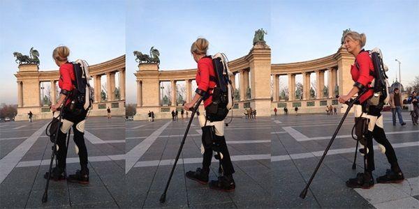 3ders.org - Watch Amanda Boxtel walk again with first 3D printed hybrid exoskeleton | 3D Printer News & 3D Printing News