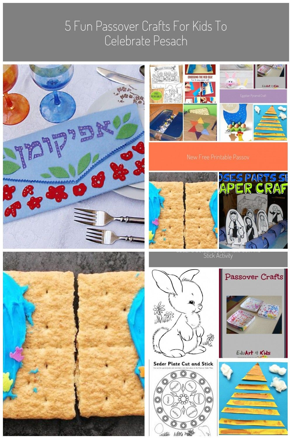 5 Fun Passover Crafts For Kids To Celebrate Pesach In 2020 Passover Crafts Crafts For Kids Bookmarks Kids