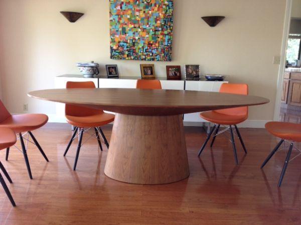 Modloft Sullivan Dining Table In Walnut Is 1350 New We Ve