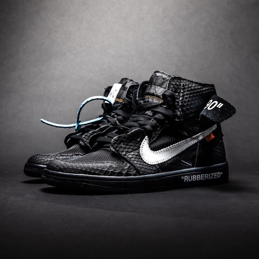 62f9fdfdac485 The Shoe Surgeon Rubberized Python Air Jordan 1 | Tags - sneakers ...