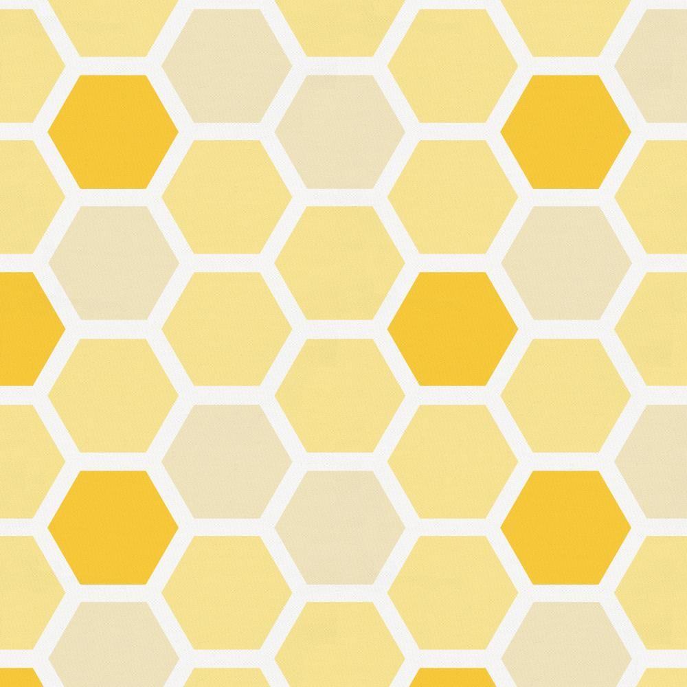 Wallpaper yellow hexagon honeycomb beehive #fddc44 #bda11e ... |Yellow Honeycomb Wallpaper