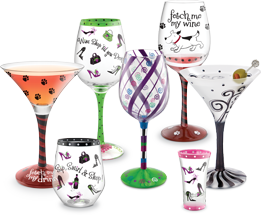 Hand Painted Glass Wear I Do This Painting Glassware Hand Painted Glassware Hand Painted Wine Glasses
