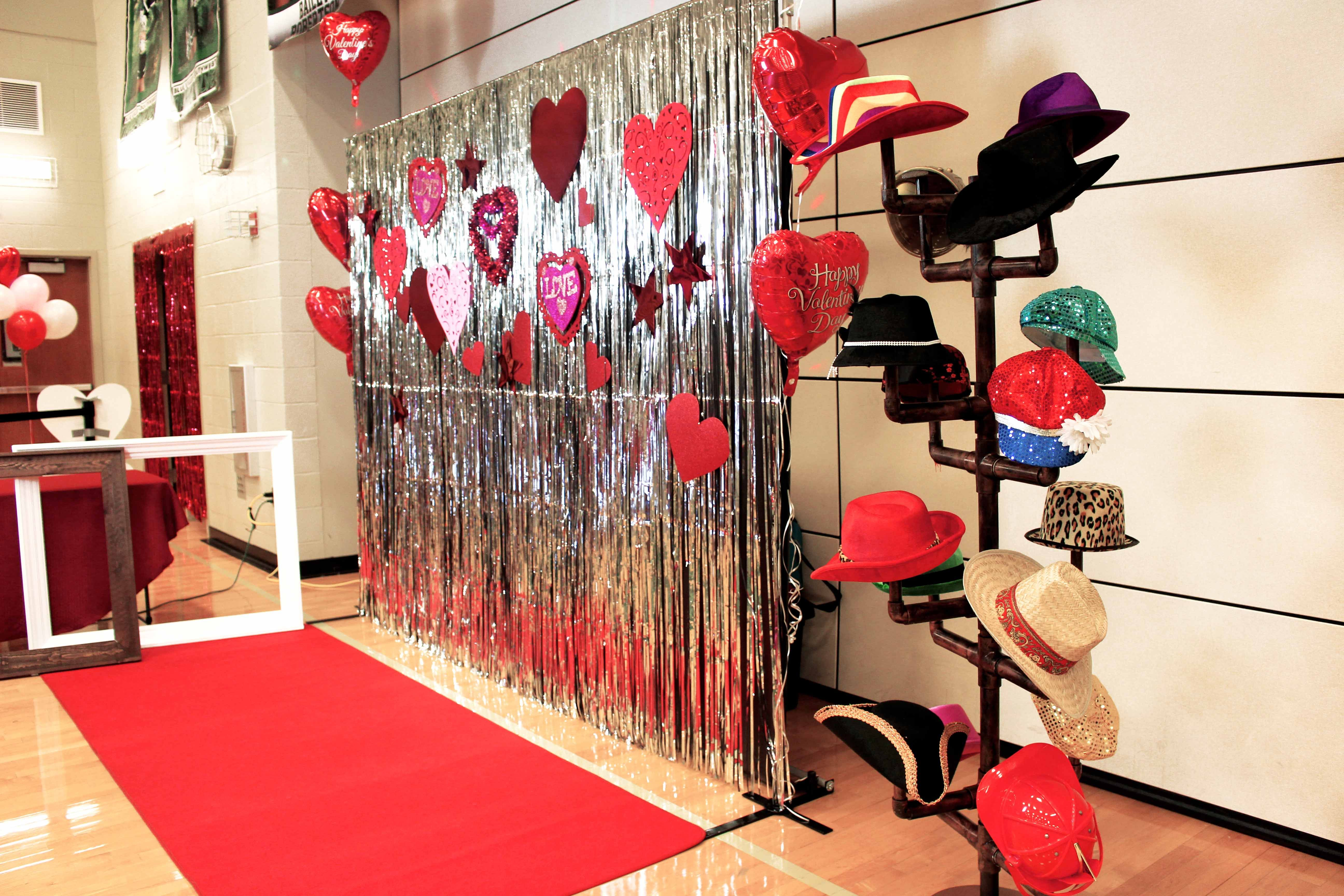 Our Valentine's Day red carpet photo booth shoot for Blue