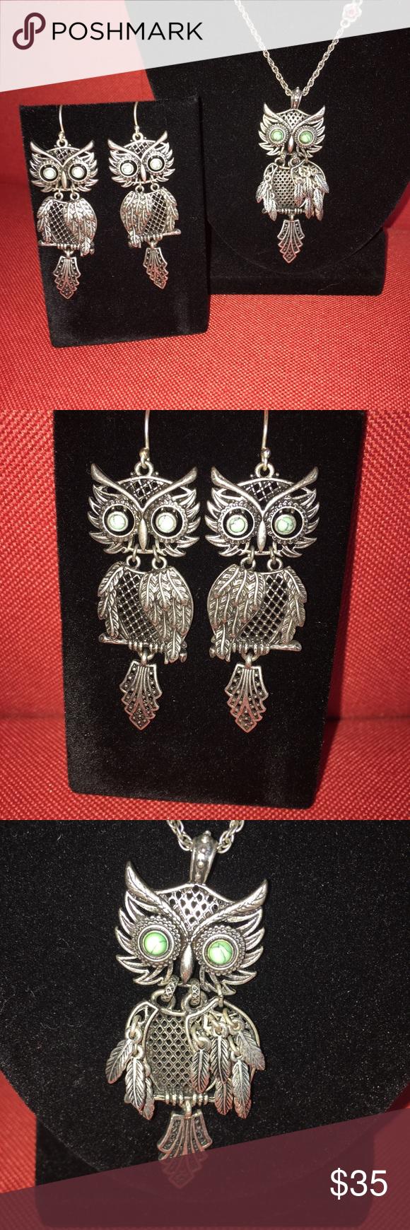 Lucky Brand Owl Jewelry Set Adorable Shaky