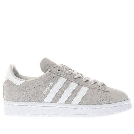 Adidas Campus Unisex Junior Light Grey