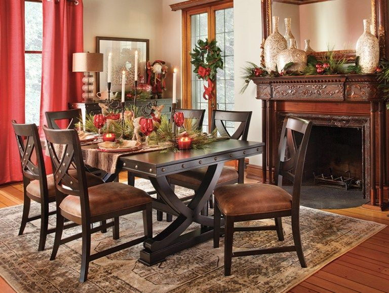 Beautiful Dining Room Sets for Holiday Entertaining Front doors - Beautiful Dining Rooms