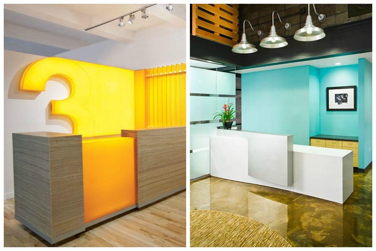 Small Office Reception Area Design Ideas