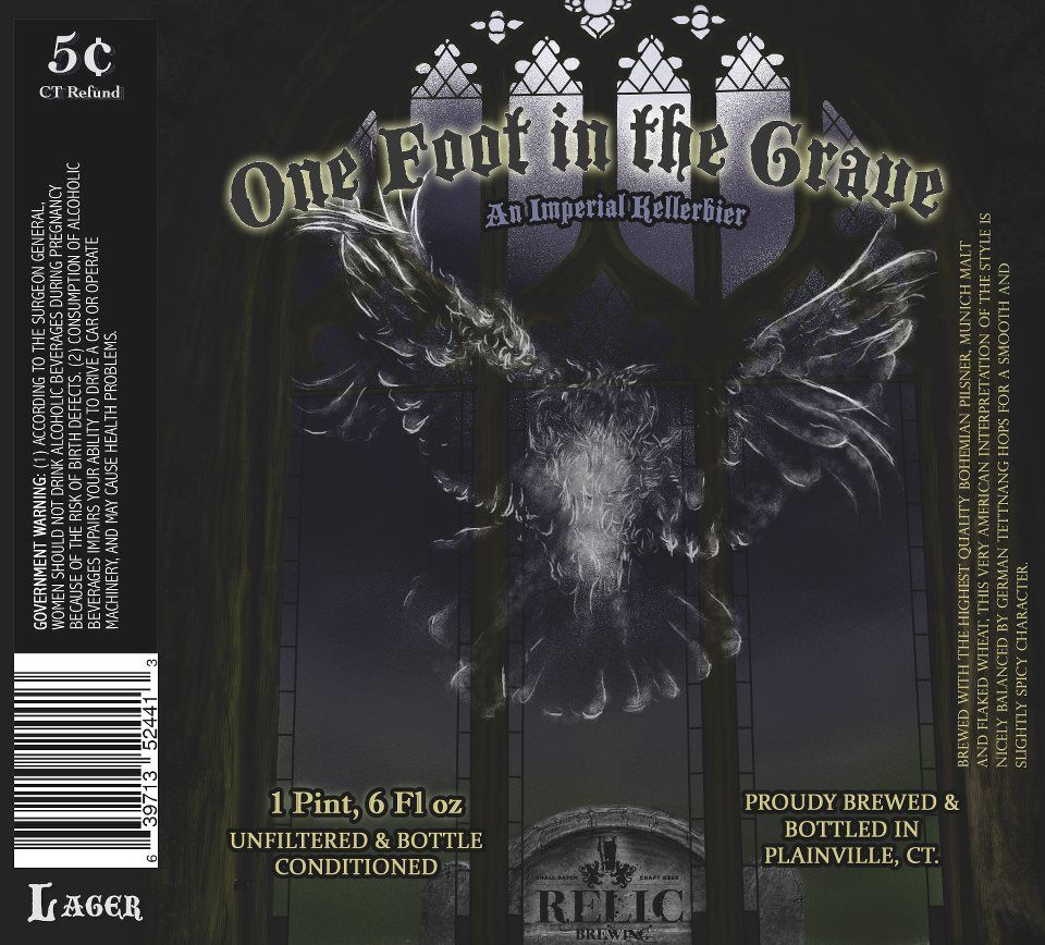 One Foot in the Grave by Relic Brewing
