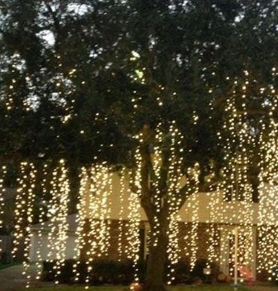 Diy outdoor christmas lighting ideas snowfall click pic for 21 christmas lights aloadofball Image collections