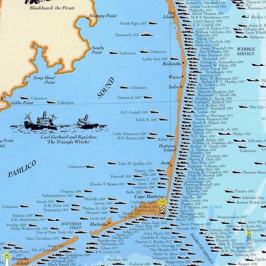 Shipwrecks Of The Outer Banks North Carolina North Carolina Pinterest Outer Banks North