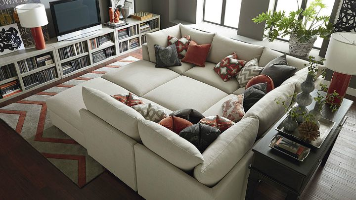 22 Real Living Room Ideas Decoholic Modular Sectional Sofa Oversized Sectional Sofa Sofa Design