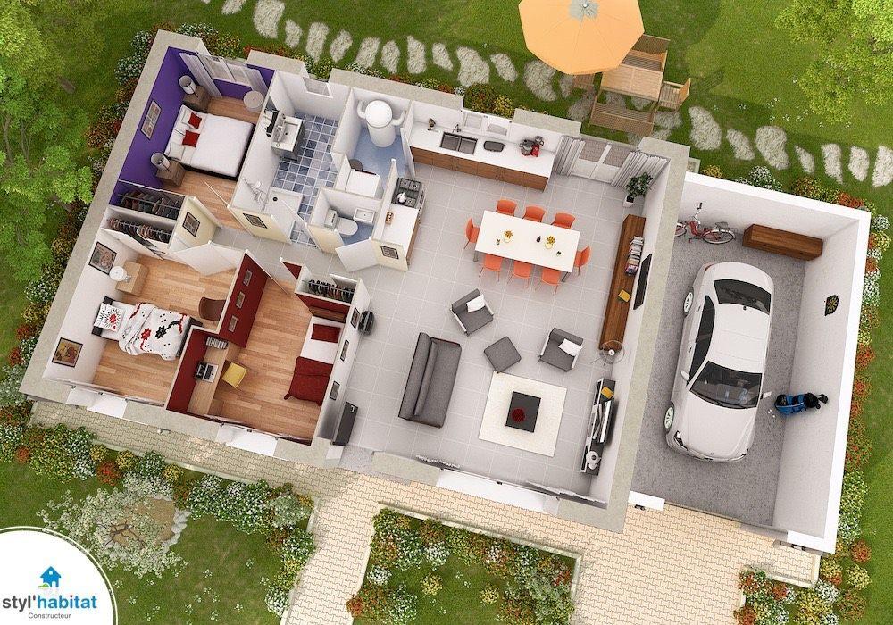 Plan De Petite Maison Gratuit Faire Construire Sa Maison 12