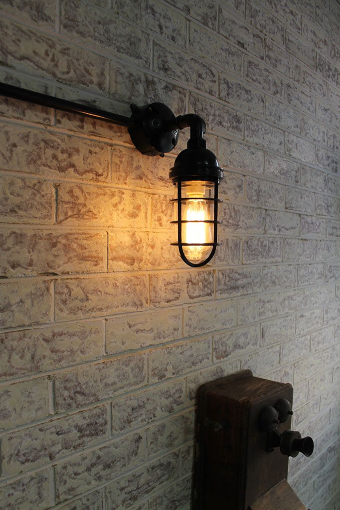 Bunker Cage Wall Light Wall Lights Industrial Wall