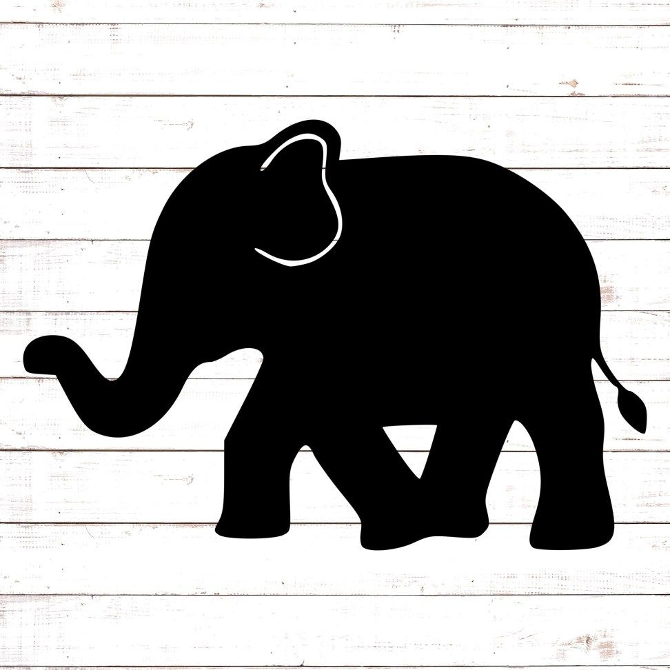 Download Walking Elephant Monogram | Svg free files, Free ...