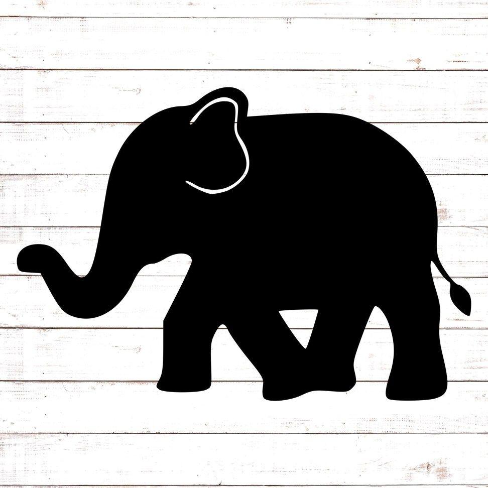 Download Walking Elephant Monogram | Svg free files, Free ...