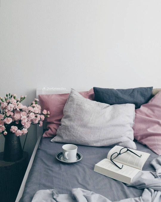 Small Bedroom Decor Tumblr Bedroom Ideas In Purple Male Bedroom Color Schemes Bedroom Sets Decorating Ideas: Soft Grey, Navy And Rose Pink. Pretty Color Palette For