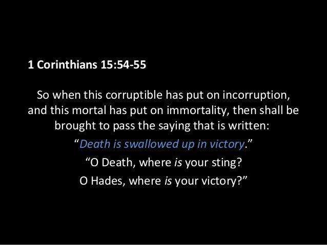 1 Corinthians 15 54