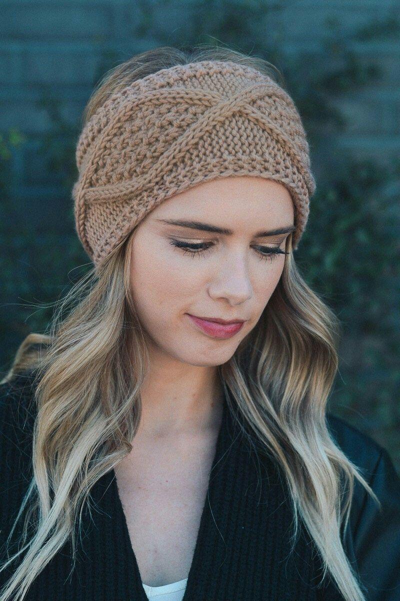 Pin by Ruth Fischer on Ruth Fischer | Pinterest | Knitted headband ...
