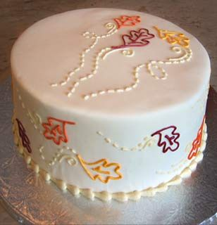 Sometimes less is more I love this cake design SalleeB Simple