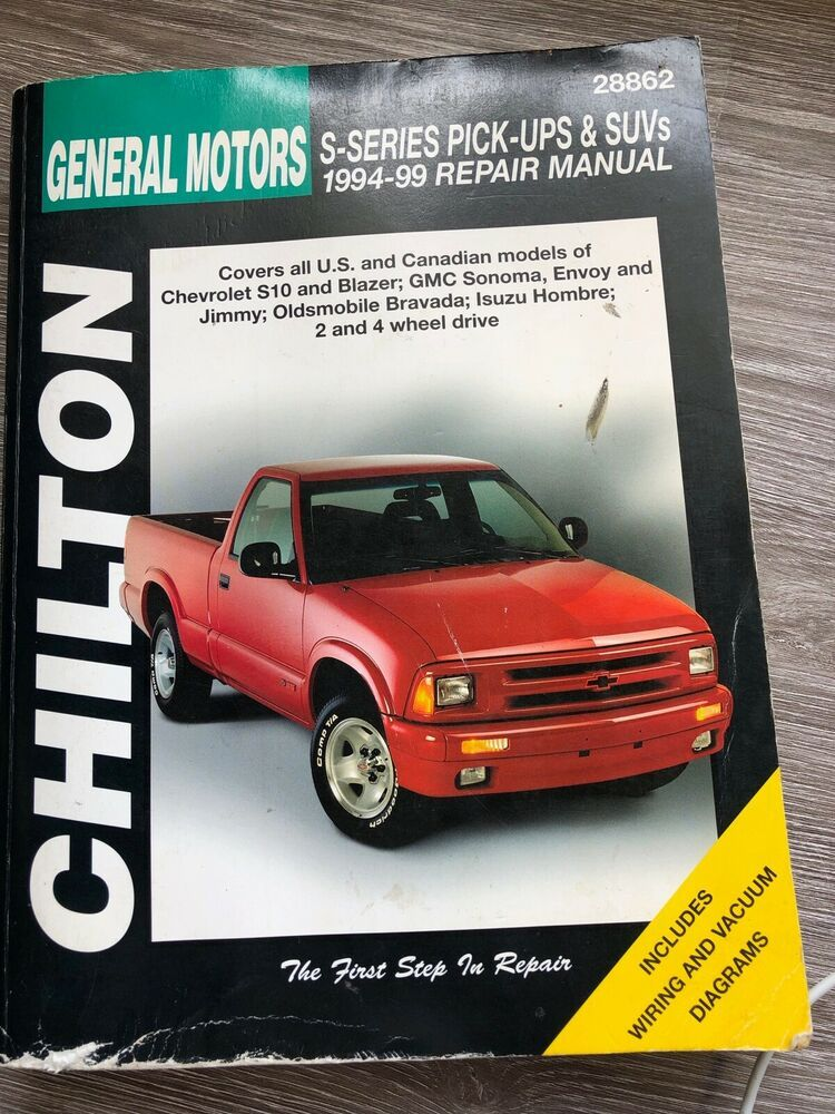 Chilton General Motors S Series Pick Ups Suvs 28862 Chilton General Motors Oldsmobile