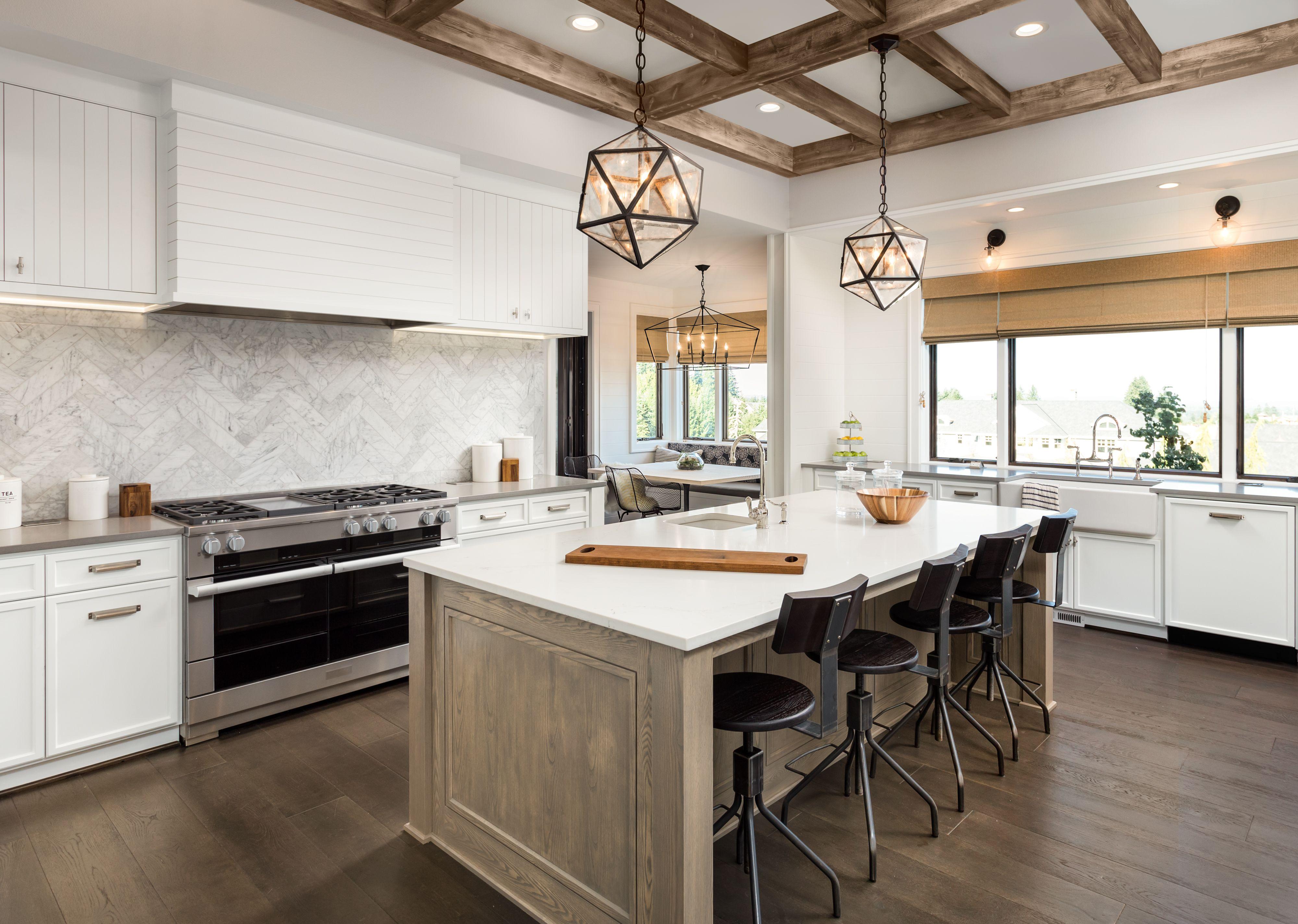Cocina Con Isla Diseño De Interiores De Cocina Cocinas De Casa Diseño De Cocina
