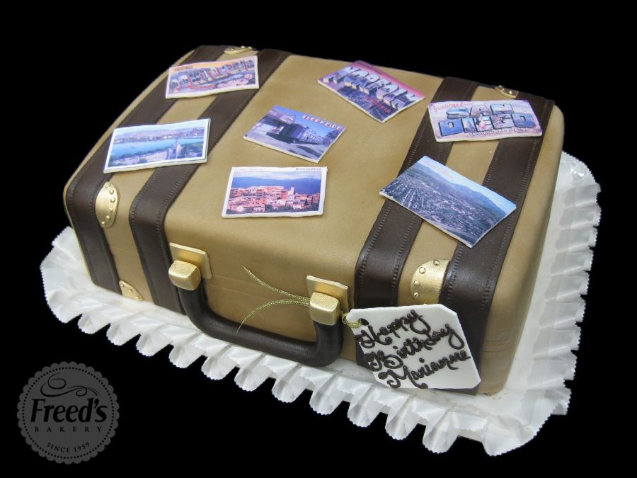 Pallow Freeds Bakery Of Las Vegas To Create The Wedding Birthday