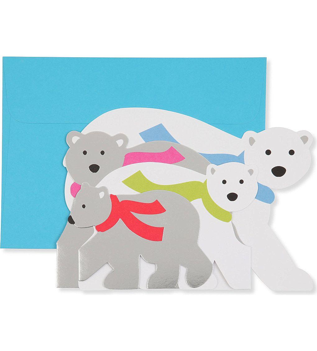 MOMA - MoMA Arctic Greeting set of eight Christmas cards ...