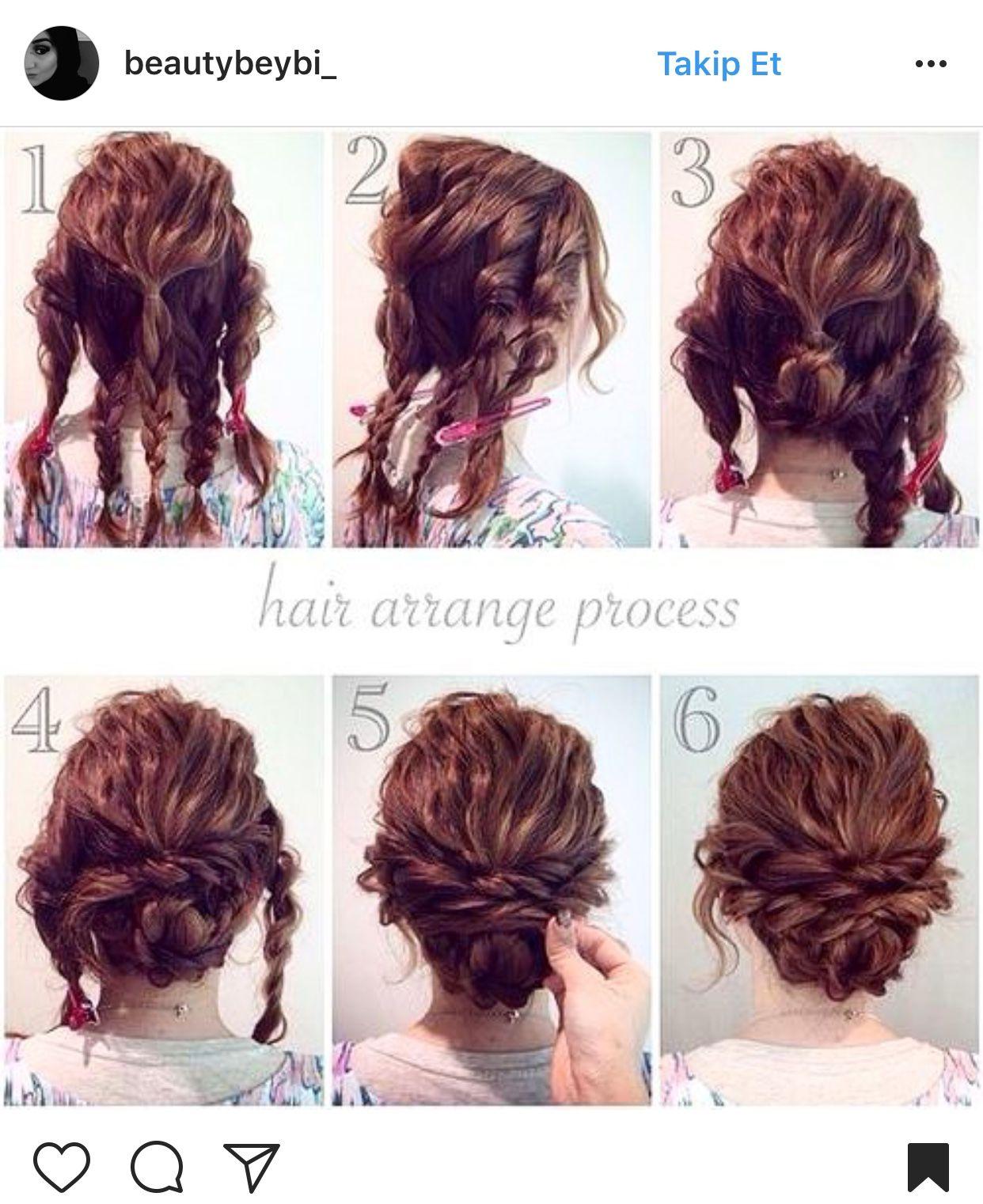 Pin by Baileys on Saç | Pinterest | Medium hair, Up dos and Short hair