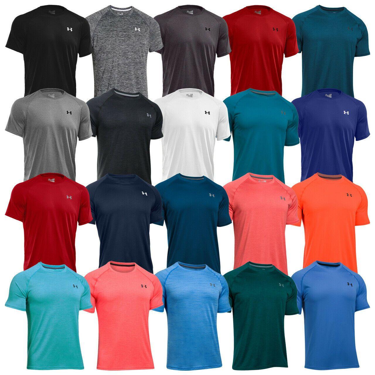 Under Armour Men/'s HeatGear Short Sleeve Loose Fit T-Shirt New