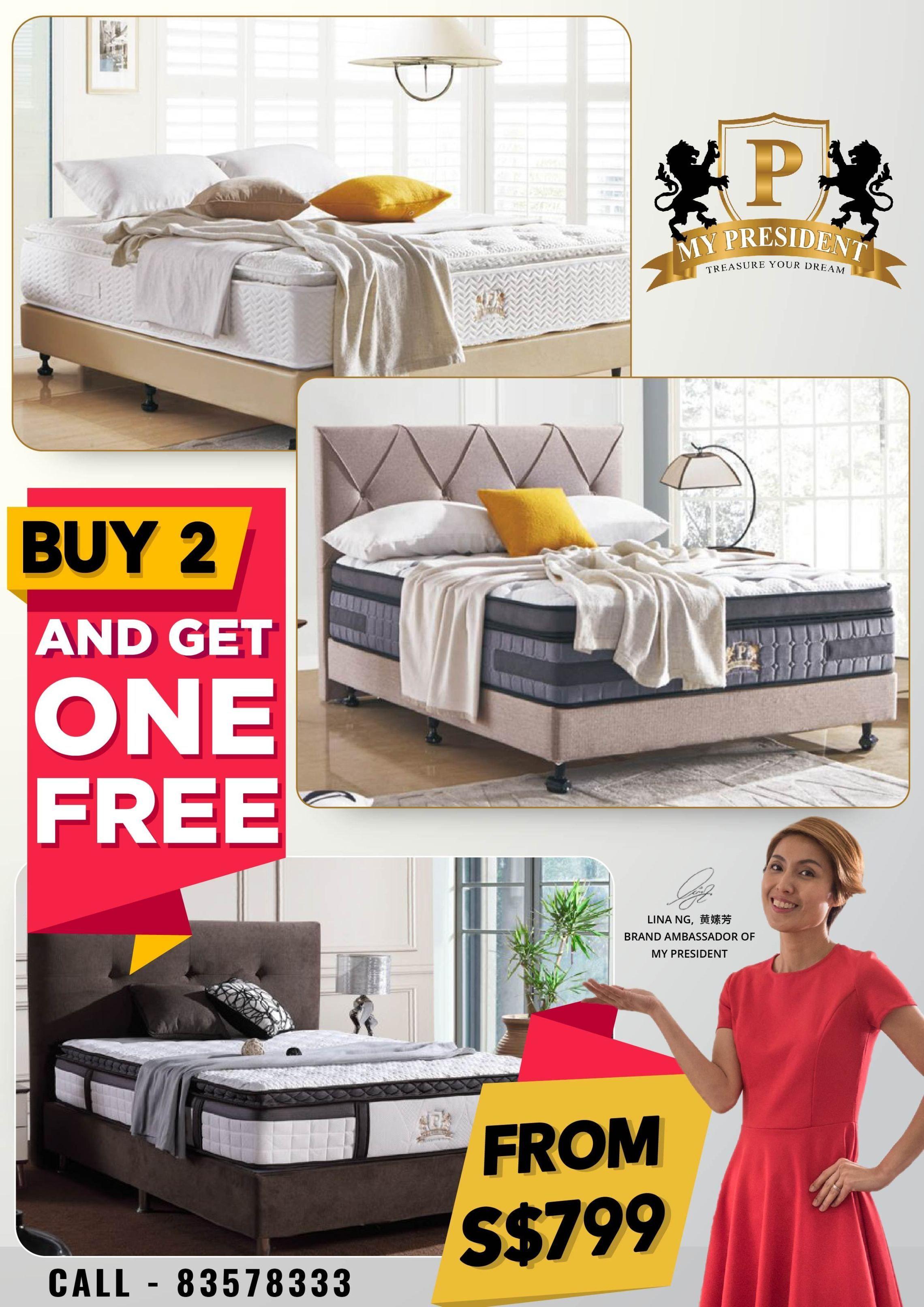 High Quality Bed Frame Singapore Hotel Pocket Spring Mattress