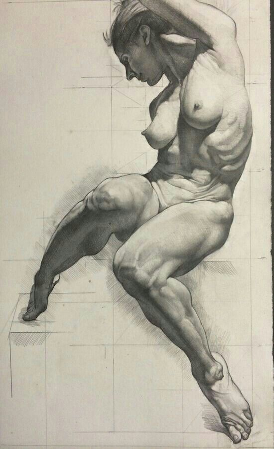 Dibujo Anatomía mujer | random | Pinterest | Anatomía, Dibujo y ...