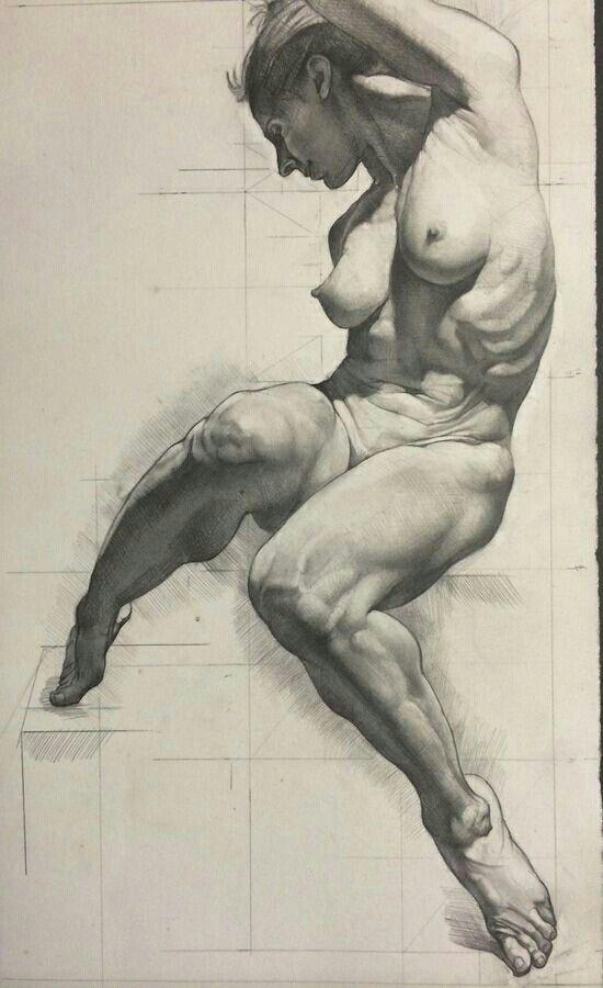 Resultado de imagen para anatomia artistica mujer | anatomia ...